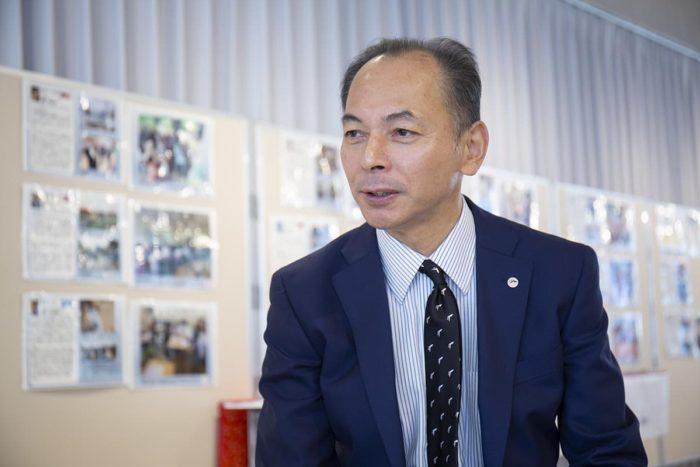 永尾教昭学長