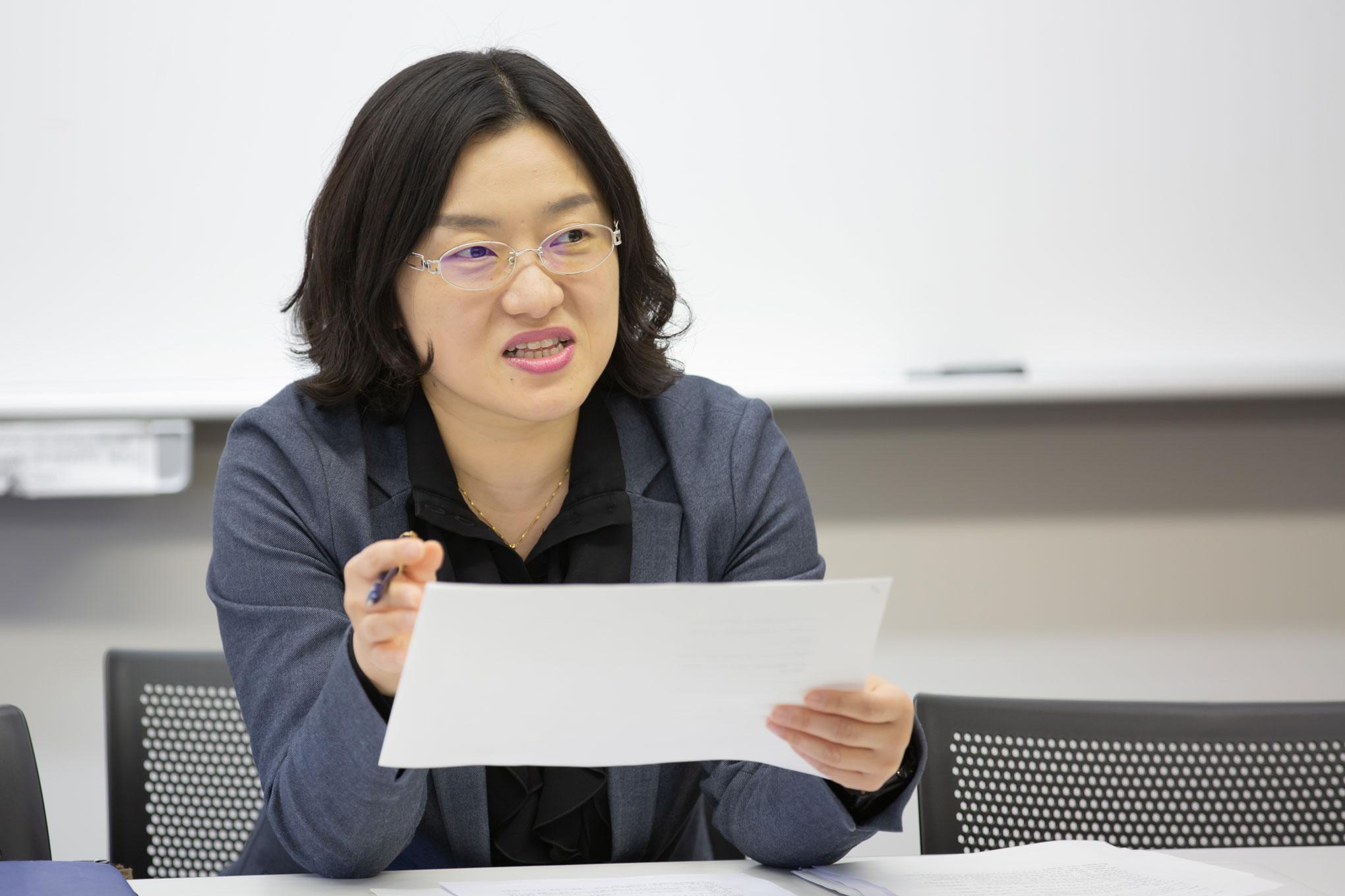 似ているようで異なる、韓国語と日本語を対照して研究
