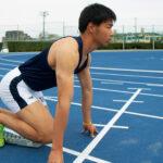 陸上競技と教員免許取得に、全力疾走